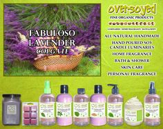 Fabuloso Lavender (Compare To Colgate®) Product Collection - A famously beloved scent with bursting florals and soft lavender. #OverSoyed #FabulosoLavender #Colgate #Candles #HomeFragrance #BathandBody #Beauty