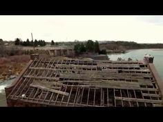 American falls dam with Phantom 4 drone - YouTube