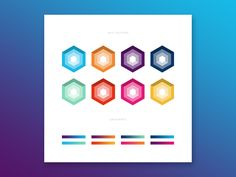 Hex Colours by Damian Kidd #Design Popular #Dribbble #shots