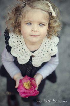 Crochet Collar by crochetlatte, via Flickr