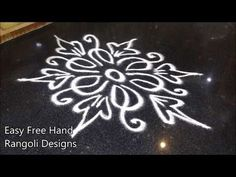 rangavalli muggulu designs without dots easy Simple Rangoli Border Designs, Easy Rangoli Designs Diwali, Rangoli Designs Flower, Free Hand Rangoli Design, Small Rangoli Design, Rangoli Patterns, Rangoli Designs With Dots, Beautiful Rangoli Designs, Mandala Design