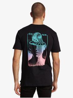 quiksilver, Sharp Daydream Sustainable T-Shirt, BLACK (kvj0)