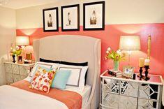 Resultado de imagen para habitaciones color coral