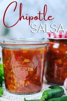 Chunky Chipotle Salsa (Video) - Peter's Food Adventures