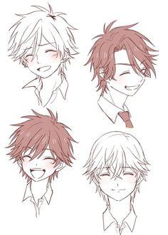 male hairstyles aniki
