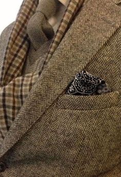 nice combination of patterns and textures.