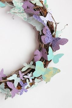 DIY Crafts :DIY Butterfly : DIY Paper Butterflies