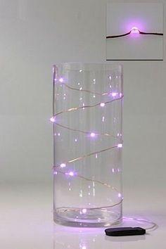 6pk Pink Micro LED Seed Vine Vase Lights Wedding Centrepiece Fairy Lights | eBay