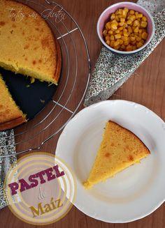 Tartas sin Gluten .....365 dias sin gluten: Pastel de Maíz
