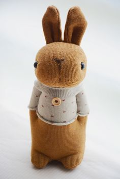 Grace--#202 Sock Domy Rabbit