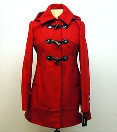 Guess red coat   Thank you for helping us improve! Tell us what you think