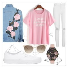 """""""#8"""" by buflie ❤ liked on Polyvore featuring Umbra, River Island, Vans, Olivia Burton and Chopard"""