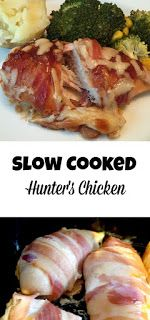 slow cooked hunter's chicken