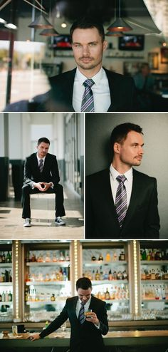 groom. love the bar shot.