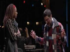 Rent, The musical, Tango: Maureen featuring the talents of Adam Kantor as Mark Cohen and Tracie Thoms as Joanne Jefferson.