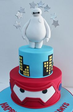 BIG HERO 6 cake  http://cakeatelier.com.au