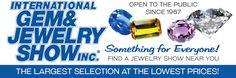 March 3-5, 2017, International Gem and Jewelry Show - $6 admission (no children under 9)/free parking, Denver Mart, 451 E 58th Ave, Denver. Fri 12-6, Sat 10-6, Sun 11-5