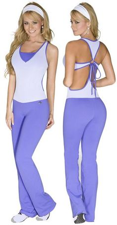 Tiempo Libre 7165 Jumpsuit Exercise Wear   NelaSportswear   Women's fitness activewear workout clothes exercise clothing