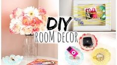 In this DIY room decorations video you won't just find room decor ideas for teenagers, but a complete room makeover project.