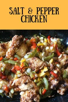 How to make salt and pepper chicken in just minutes. Frugal, fakeaway, money saving takeaway, Chinese recipe. #Chinese #Fakeaway #Takeaway #SaltAndPepperChicken #ChickenRecipes #ChickenDinner ChickenDishes