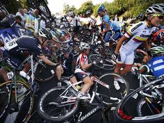 Cycling: Women's #cycling world championships. Glad I'm not in the middle of that. (Chances are unlikely though at 56, and male. Oh well)