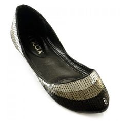 a6c0b8db4569 Stylish Color Block and Sequined Design Women s Flat Shoes