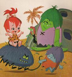 Pebbles, Weirdly, Goblin and Schneider the Spider.
