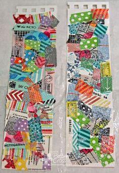 What a great idea for your washi tape scraps....I soooooo love it as I seem like I waste a lot of tape.