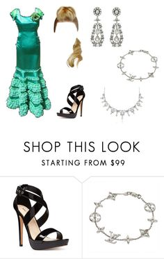 """""""Untitled #5814"""" by mysticfalls1997 ❤ liked on Polyvore featuring Nine West and Louis Vuitton"""