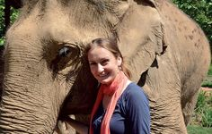 Katherine Connor founded a sanctuary for abused elephants. Boon Lott's Elephant Sanctuary, a reserve in Thailand, is home to elephants saved from a life of misery in the logging and tourism trades. Thailand Elephants, Elephant Sanctuary, Asia Travel, Tourism, Kid, Acre, Animals, Photos, Inspiration