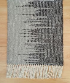 Hand Woven Rug - Grey and Brown by Agnis Smallwood £45.00