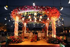 Outdoor Low Budget Indian Wedding Decorations - mypic.asia