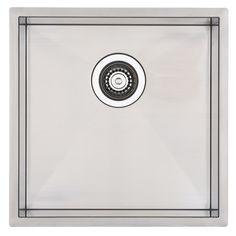 Mondella 440mm Rococo Single Bowl Square Undermount Sink