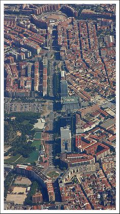 De city of Sabadell in Barcelona, Catalonia_ Spain