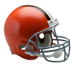 Cleveland Browns Authentic Throwback Helmet-Full Size VSR4 Design