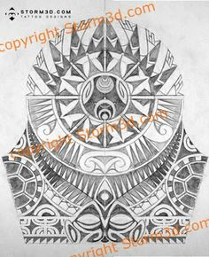 Polynesian Tattoo Flash | Recent Photos The Commons Getty Collection Galleries World Map App ...
