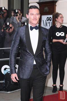 Luke Evans at the 2014 GQ Men of the Year Awards   Tom & Lorenzo Fabulous & Opinionated