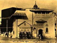 #Old photo of the Kaaba in Mecca  #Islam