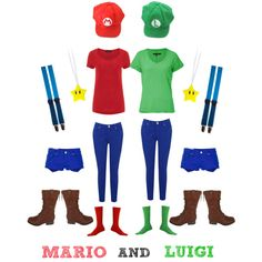 """MARIO AND LUIGI"" OUR HALLOWEEN COSTUME"