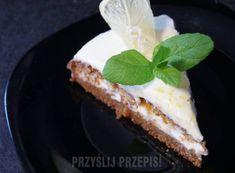 Ciasto marchewkowe z kremem z białej czekolady i mascarpone