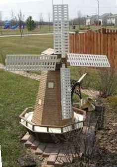 Wooden Dutch Windmill Plans PDF Plans turn your closet into an office