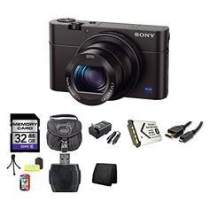 Zeiss Vario-Sonnar T* f/1.8-2.8 Lens, 24-70mm (35mm Equivalent) 20.1MP 1″ Exmor R BSI CMOS Sensor, BIONZ X Image Processor ISO 12800 and 10 fps Continuous Shooting, Manual Control Ring & Built-In ND Filter
