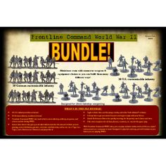 In 2009 we released the pre-release version, and now the full version is here! The new book is double the size and filled with illustrations and new information like coloring charts, terrain explanations, and rules for play. Also included are new movement rules for infantry and armor, painting guides, and a more! The game was designed for 28mm, but can be played with other scales as well.