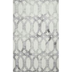 Shop nuLOOM Light Grey Hand Looped Nellie Area Rug at Lowe's Canada. Find our selection of area rugs at the lowest price guaranteed with price match. Grey Runner, Target Rug, Trellis Rug, Contemporary Area Rugs, Modern Rugs, Rugs Usa, Grey Rugs, Gray, Home Decor
