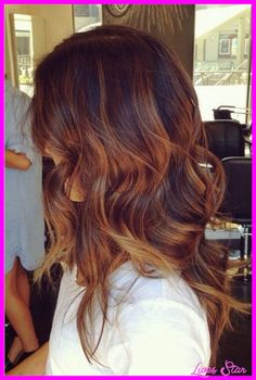nice Reddish brown ombre hair