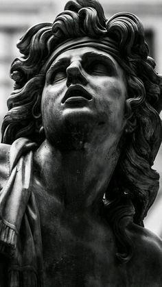roman sculpture Ik weet niet wie het is, - sculpture Sculpture Romaine, Greek Statues, Ancient Greek Sculpture, Buddha Statues, Angel Statues, Roman Sculpture, Bronze Sculpture, Greek Art, Classical Art