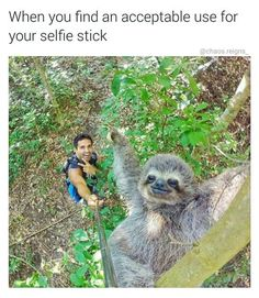 That is clever! :D #funny #selfie