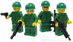 LEGO Military LOOSE Custom RANDOM MiniFigure Revolutionary