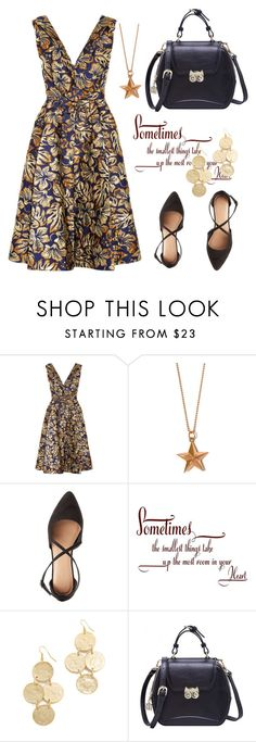 """""""Spring Look!"""" by amy0527 ❤ liked on Polyvore featuring Prada, True Rocks, Charlotte Russe, WALL and Kenneth Jay Lane"""