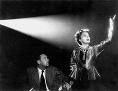 """""""Sunset Blvd."""" by Billy Wilder (1950) - William Holden & Gloria Swanson"""